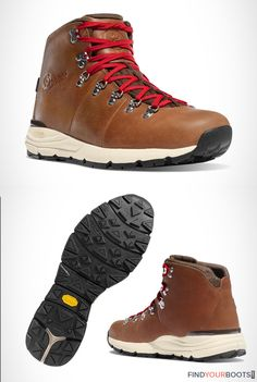 Danner Mountain Light 600 mens hiking boots | For anyone looking for comfortable and reliable hiking boots, Vibram sole hiking boots are going to be your best bet. When you purchase a pair of hiking boots with a Vibram sole you can expect an exceptional standard of quality regardless of brand. Check out our top picks for the best hiking boots with Vibram soles at www.findyourboots.com