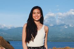Gabbi Garcia on moving on: 'Treat yourself, bes! Celebrity Singers, Celebrity Crush, Twist Hairstyles, Cool Hairstyles, Gabbi Garcia, Filipina Beauty, Asian Hair, Hair Care Tips, Girl Crushes