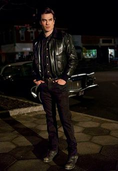 1960's flashback in TVD...If Ian was in the 60's, he would be the sexiest bad boy with a sweet side on the block!!