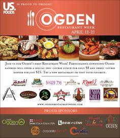 Ogden Restaurant Week Utah Northernutah Great Deal An Amazing Food Patricia Smith Nickens Derryberry