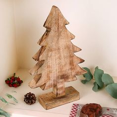 wooden christmas tree by dibor | notonthehighstreet.