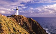 Lighthouse at Byron Bay on the Sydney to Brisbane bicycle route. Cycle Traveller. Tourism #Australia