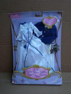 Barbie & Ken Princess Pauper Erika Fashion Dress Pack Outfit 2004 Mattel No Doll Doll Clothes Barbie, Barbie Dolls, Doll Outfits, Ken Doll, Polly Pocket, Disney Bound, Barbie And Ken, Erika, Princesses