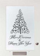 Merry Christmas & Happy New Year -Interieursticker, autostickers of geboortesticker kopen?   Stickyshop