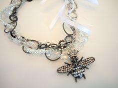 OOAK Queen Bee Steampunk Necklace by Debbie Renee by DebbieRenee, $47.60
