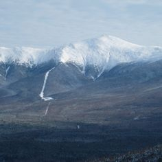 Mt Washington, NH with cog railway track, can't wait to see this place!!!