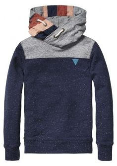 THis is exactly what I was looking for, for ME :) New in: Scotch Shrunk sweat with patchwork for boys | www.eb-vloed.nl