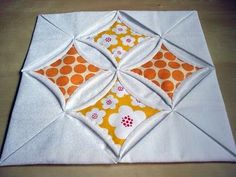 PatchworkDelights : Cathedral Windows Tutorial