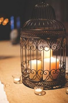 12 Gorgeous Diy Decor Ideas Using Birdcages                                                                                                                                                                                 More                                                                                                                                                                                 More