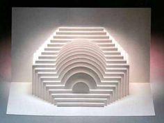 Киригами Кубическая пирамида