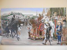 Ermita de San Sebastian. Imagen de la rendición de Granada en lo que va a ser museo