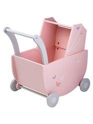 Caixa de arrumação estilo carrinho de bebé