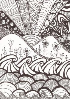 zentangles and doodles - Pesquisa Google
