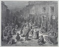 Gustave Dore, Dudley Street Seven Dials