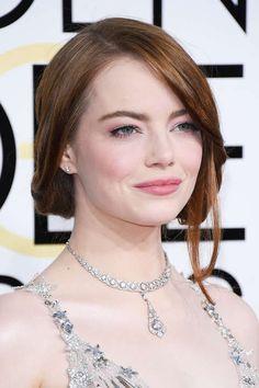 Neben Bun- und Bobvarianten, haben wir glamouröse Wellen entdeckt: Sehen Sie die schönsten Frisuren und Stylings vom Red-Carpet der Golden Globes 2017.