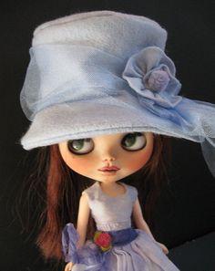 OOAK hats for Blythe dolls...amazing!