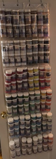 Inexpensive Frit Storage. Holds 96 Jars of Uroboros 96 Frit. Keeps everything organized. I can tell at a glance what I have and what needs to be replenished.