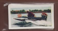 #5 Outboard Motor-Boat Racing - 1956 Water Sports Trade Card | eBay
