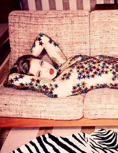"""""""Summer Girl"""" Lindsey Wixson by Ellen von Unwerth for Vogue Russia July 2015"""