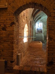 Basement of Ducal Palace - Urbino, Le Marche, Italy