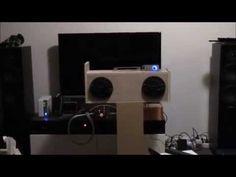 DIY Boombox - Sony Car Speakers + Lepai LP-2020A+ - Get it on Amazon:  http://www.amazon.com/dp/B015MQEF2K - http://outdoors.tronnixx.com/uncategorized/diy-boombox-sony-car-speakers-lepai-lp-2020a/