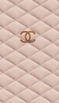 Gold Wallpaper Background, Rose Gold Wallpaper, New Wallpaper, Aesthetic Iphone Wallpaper, Wallpaper Backgrounds, Phone Backgrounds, Chanel Background, Coco Chanel Wallpaper, Chanel Wallpapers