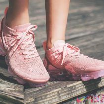 """044a399610e """"Rust Pink"""" Nike Air VaporMax 2 Dressed in three different shades of Pink.  This Nike Air VaporMax feature a Pink Flyknit upper with a lighter tone of  Pink ..."""