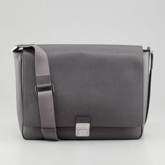 Fancy - Saffiano Leather Messenger Bag by FendI $1620