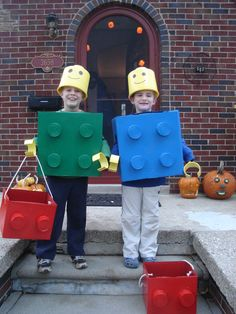 Lego costumes made by me, Halloween 2009