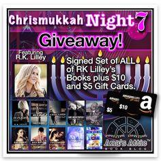 Chrismukkah Favorites Night 7 – R.K. Lilley  http://anasattic.com/chrismukkah-favorites-night-7-r-k-lilley/