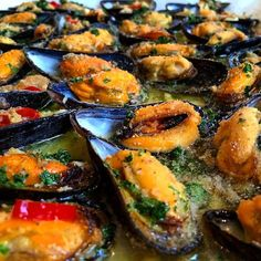 Dutch Recipes, Italian Recipes, Cooking Recipes, Healthy Recipes, Shellfish Recipes, Seafood Recipes, Belgium Food, Good Food, Yummy Food
