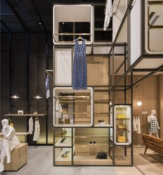 Change X Yi concept store with lilong system in yioulai shanghai village by Lukstudio