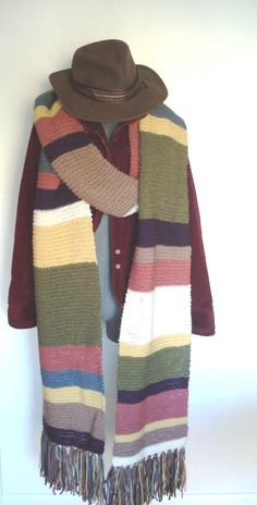 want. tom baker scarf