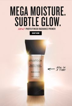 Smashbox: New! Mattifying Primer, Smashbox Cosmetics, Foundation Primer, Moisturizer, Tube, Glow, Bottle, Moisturiser, Flask