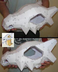 PEPAKURA - Cubone Skull Helmet by distressfasirt on DeviantArt