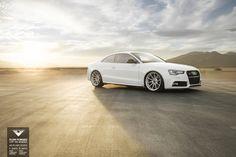 Audi S5 with Vorsteiner V-FF 102 Flow Forged Wheels...