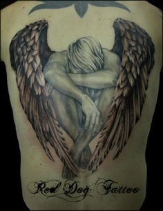Awesome angel tattoo designs (32 photos) - Xaxor