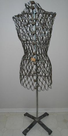 Vintage Dress Form - Adjustable Wire Dritz My Double | 4 Birds ...