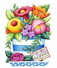 mary engelbreit flowers | Publicado por María José en 10:53