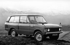 1970: Land Rover Range Rover The Range Rover has kept fairly close to its original formula: Giant SUV that kicks a metric crap-ton of ass. The original wasn't as luxurious as today's, but the Range Rover was the first Land Rover to be both genuinely useful in everyday life, and on the trail.