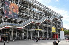 The Pompidou Centre in Paris celebrates its 40th anniversary this year. MIGUEL MEDINA/AFP/Getty Images