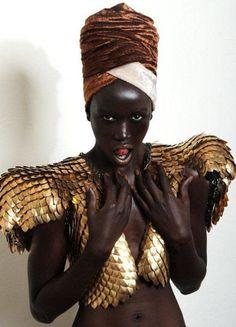 pinterest.com/fra411 #black #beauty - Editorial