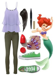 """""""Ariel- Modern"""" by xxmonnyxx ❤ liked on Polyvore featuring rag & bone/JEAN, Converse, NARS Cosmetics and modern"""