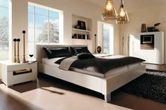 Comfortable Urban Style Bedrooms Decorating Ideas