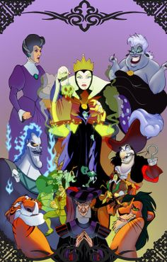 Disney Villains Coloring Pages | free coloring creating and ferb coloring villain cruella de tend to ...