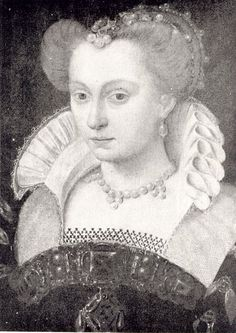 Clouet - Louise de Lorraine - 1571 - Owned by the Collections of the Czartoryski Princes in Gołuchów (Division of the National Museum in Poznań)