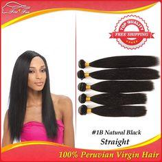 ms lula peruvian straight virgin hair grade 7a virgin hair free shipping unprocessed virgin peruvian hair 5pcs lot human hair $116.25 - 293.25