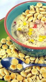 Inspired By eRecipeCards: Rotisserie Chicken Corn Chowder