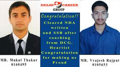 Delhi Career Group offers the competitive learning environment to the students for NDA exam. We offer the best coaching for NDA in Chandigarh and guide the students with the right mix of classroom and practice session that will prepare them to score well in the exam.