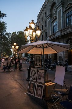 Las Ramblas in Barcelona - great memories with friends on this famous street